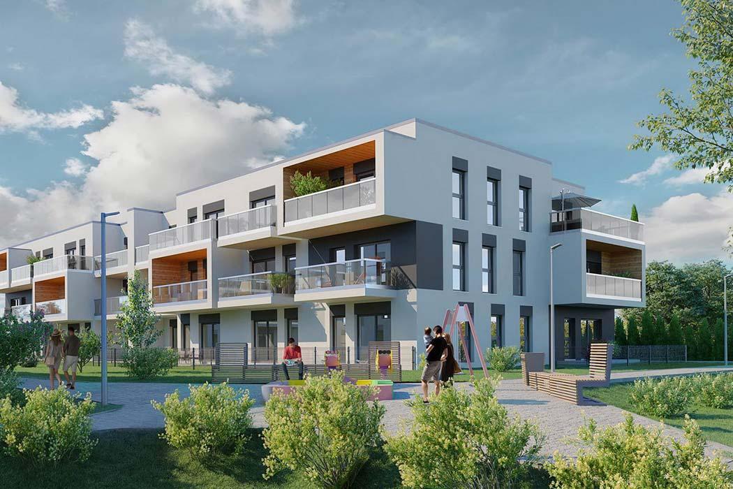 Nowe mieszkania z garażami podziemnymi na sprzedaż Katowice